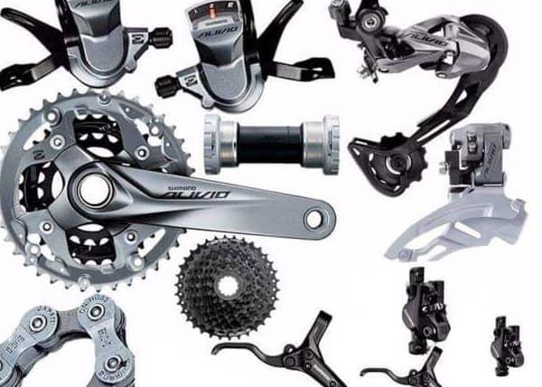 Prodaja opreme i delova za bicikle